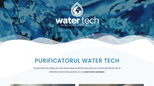 Purificatoare de apă, dozatoare, filtre de apă - Water Tech