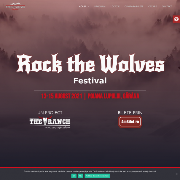 Rock the Wolves - Festival Gărâna 2021