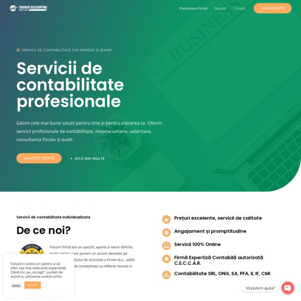 Servicii profesionale de contabilitate Oradea - Magnum Accounting